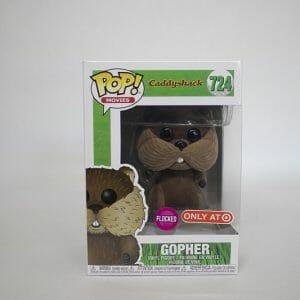 caddyshack flocked gopher funko pop!