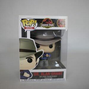 Jurassic Park Dr. Alan Grant Funko Pop!