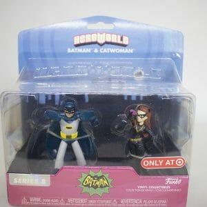 Heroworld batman and catwoman