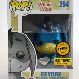 Chase Eeyore Funko Pop! in the box.