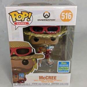 Mccree 2019 summer convention overwatch funko pop
