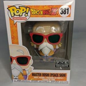 Master Roshi Peace Sign Funko Pop