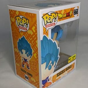 dragon ball super ssgss goku hot topic exclusive