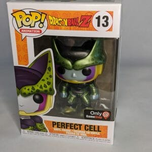 dragon ball z perfect cell gamestop funko pop