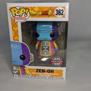 dragon ball super zen-oh funko pop