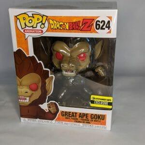 dragon ball z 6 inch great ape goku funko pop