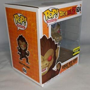 dragon ball z 6 inch great ape goku ee exclusive funko pop