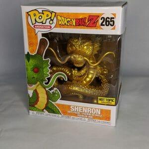 dragon ball z 6 inch gold shenron funko pop