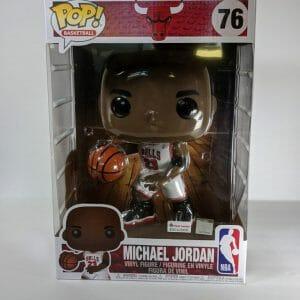 "Michael Jordan Footlocker 10"" funko pop mint condition"