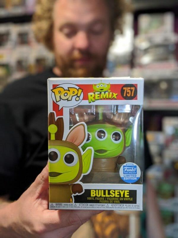 Bullseye Funko Unboxed