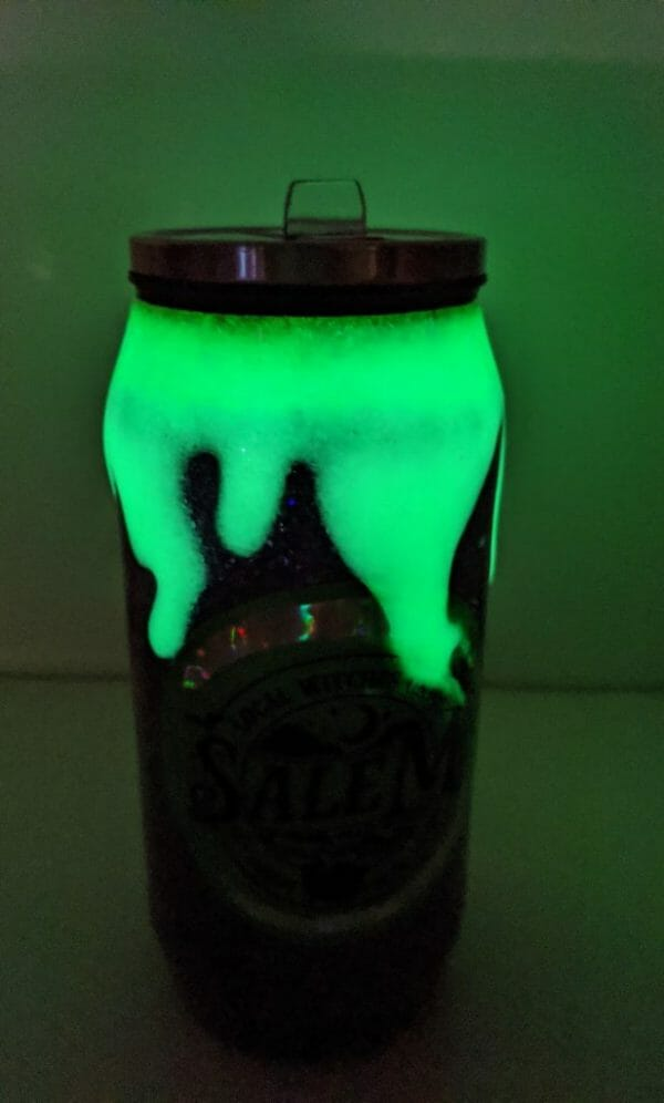 Glow in the dark witches union cup
