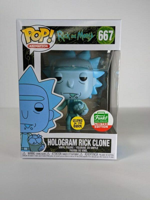 Rick and Morty holiday funko shop