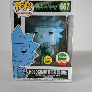 Rick and Morty holiday funko shop