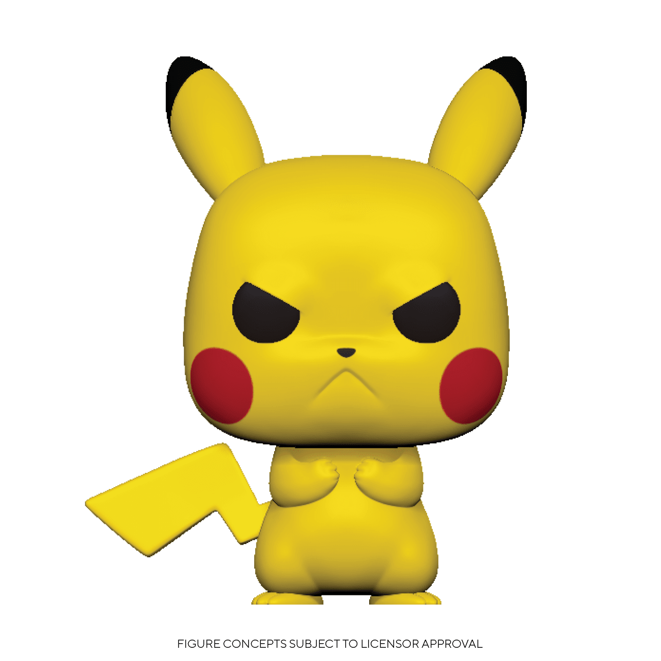 pikachu is grumpy pokemon