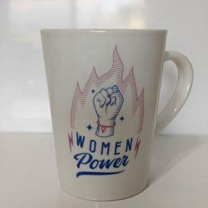 Tattooed women power 14oz mug