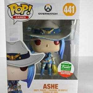overwatch ashe funko pop!