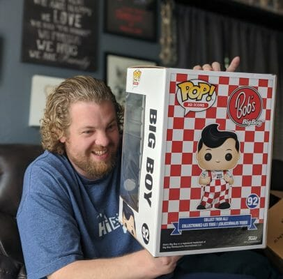Big Boy Unboxing Funko - Joe is excited