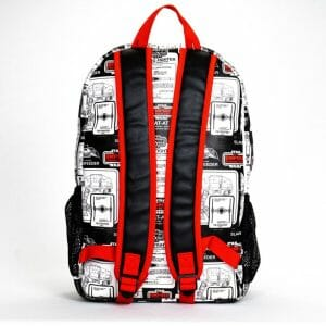 loungefly nylon backpack ee exclusive star wars back
