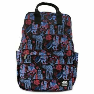 star wars loungefly nylon backpack