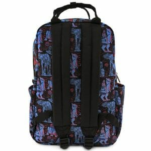 empire strikes back nylon print backpack