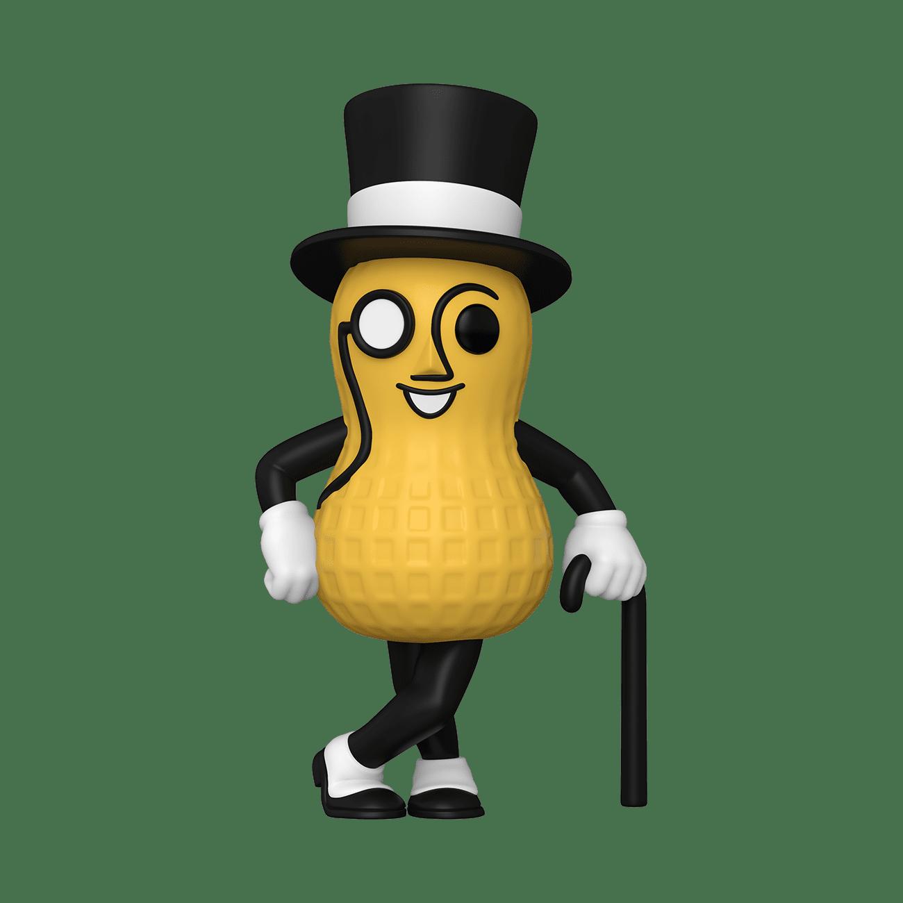 ad icons mr peanut funko