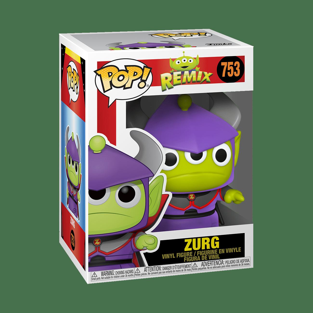 alien remix zurg pixar funko pop!