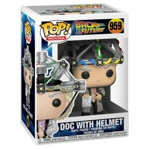 back to the future doc with helmet funko pop!