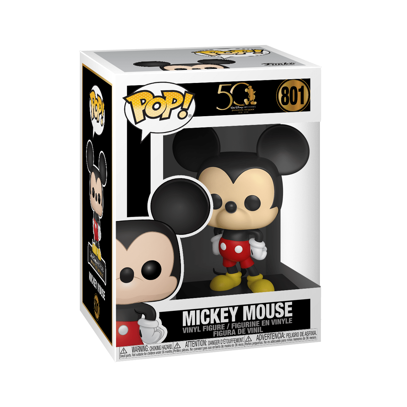 disney archives mickey mouse funko pop!