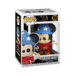 disney archives sorcerer mickey funko pop!