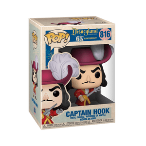 disneyland 65th captain hook funko pop!