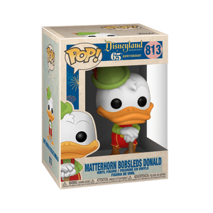 disneyland 65th bobsled donald funko pop!