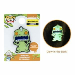 ee exclusive reptar gitd pin