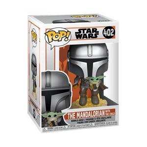 mandalorian with child Funko Pop!
