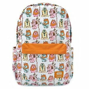 star wars ewoks nylon backpack