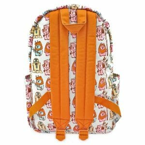 ewoks pastel print nylon backpack loungefly