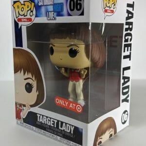 target exclusive target lady snl funko pop!