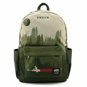 star wars endor speeder bike nylon backpack