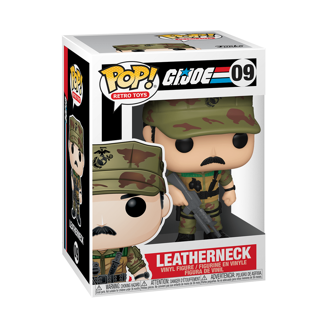 gi joe leatherneck funko pop!