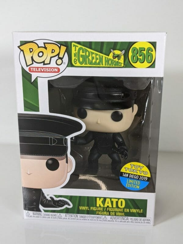 green hornet kato funko pop!