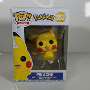 pokemon pikachu funko pop!