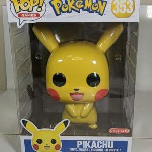 pokemon pikachu 10 inch funko pop!