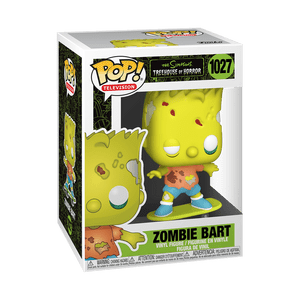 bart simpson zombie funko pop!