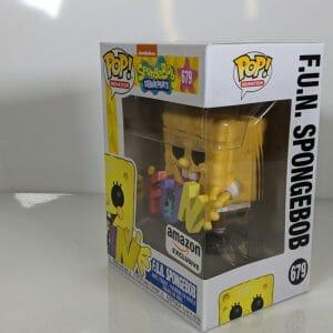 spongebob with plankton funko
