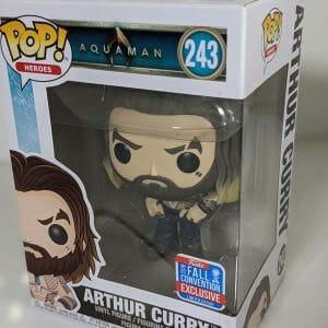 arthur curry shirtless funko pop!