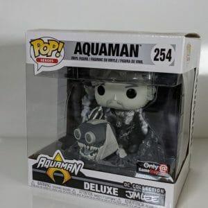 aquaman bw deluxe funko
