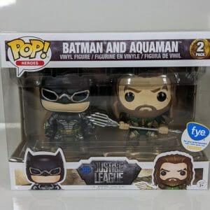 batman and aquaman funko pop! 2 pack