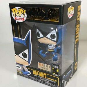 batman metallic bat-mite funko pop!