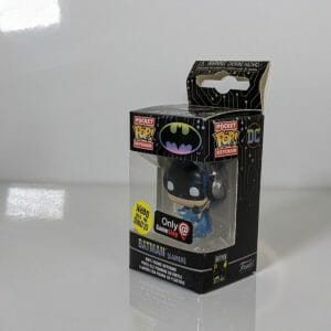 batman gitd gamer keychain funko pocket pop!