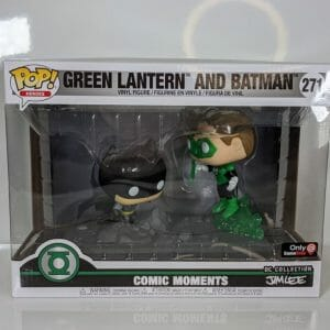 batman vs green lantern movie moments funko pop!