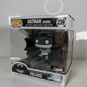 deluxe funko batman hush bw